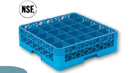 GLASS RACK 25 COMPARTMENT-GRC5025