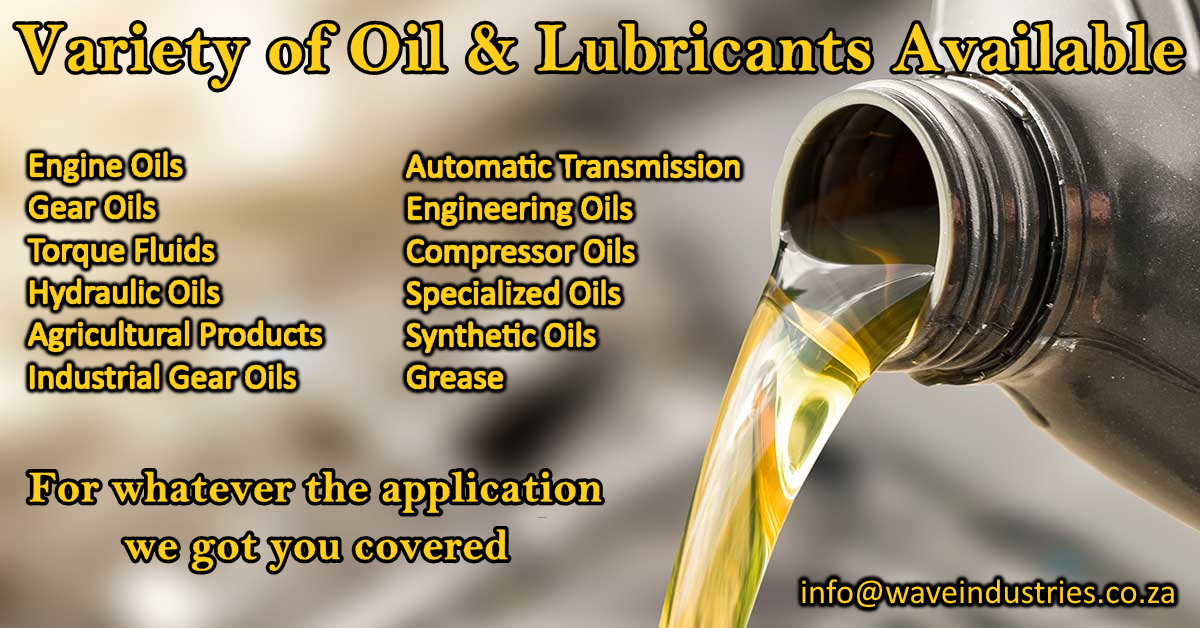 Oils & Lubricants for Sale:
