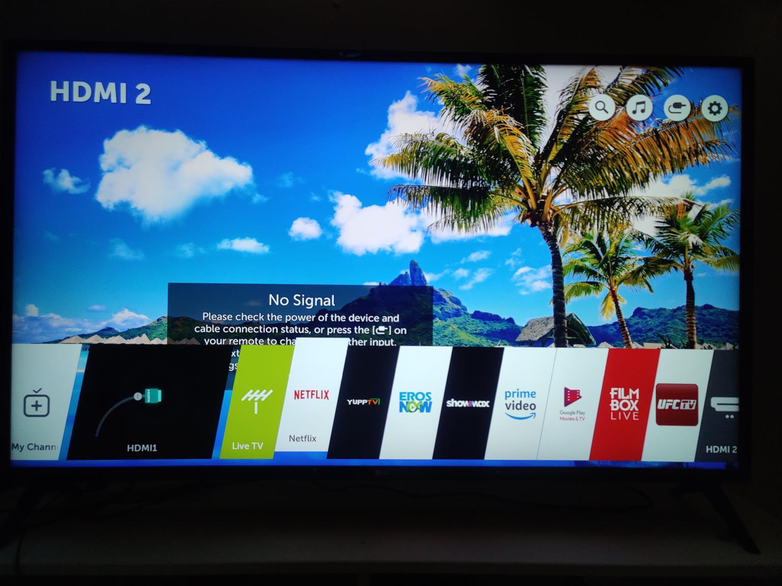 Lg 50 inch uhd smart led tv as new X3 hdmi usb