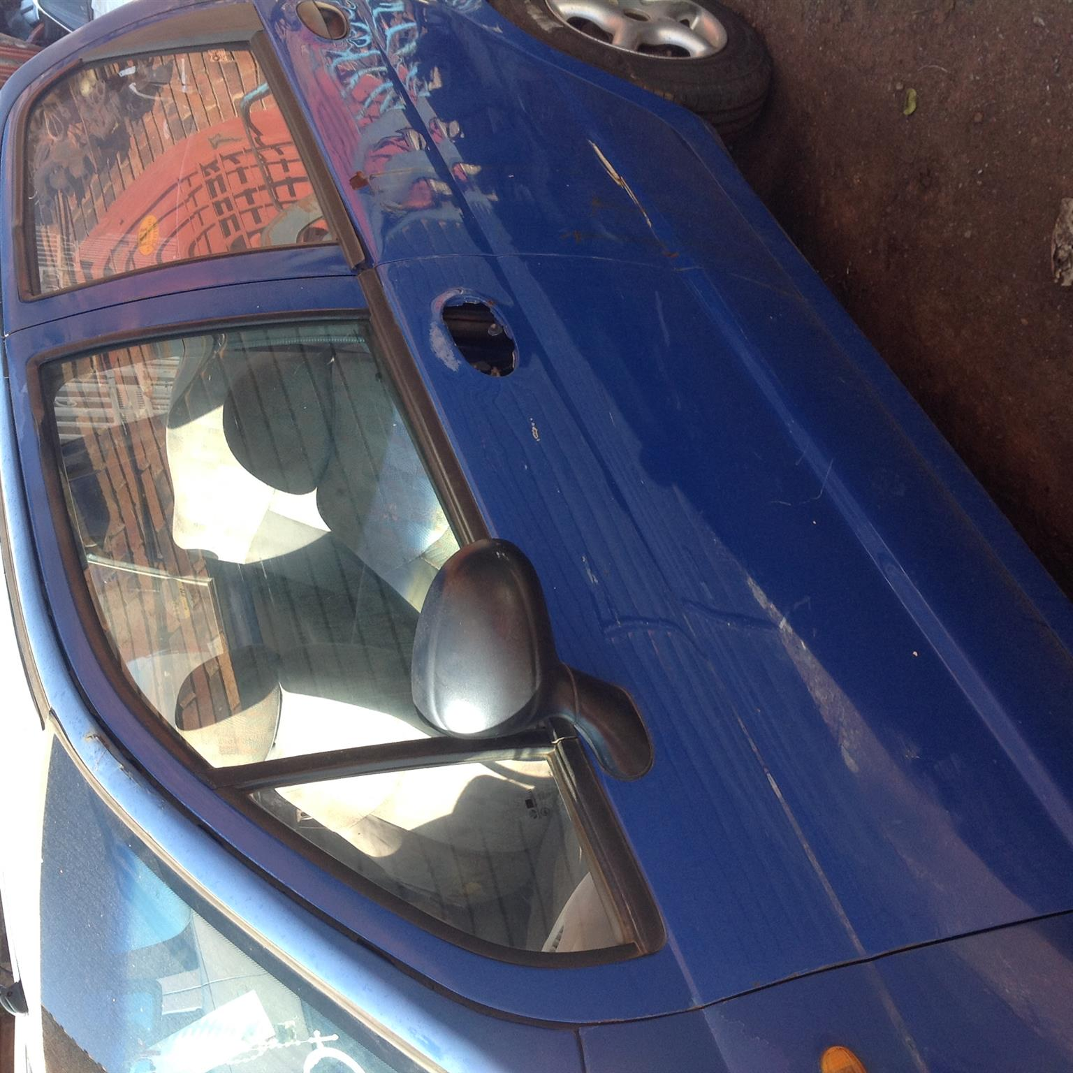 Stripping Daewoo Matiz 2000 for Spares
