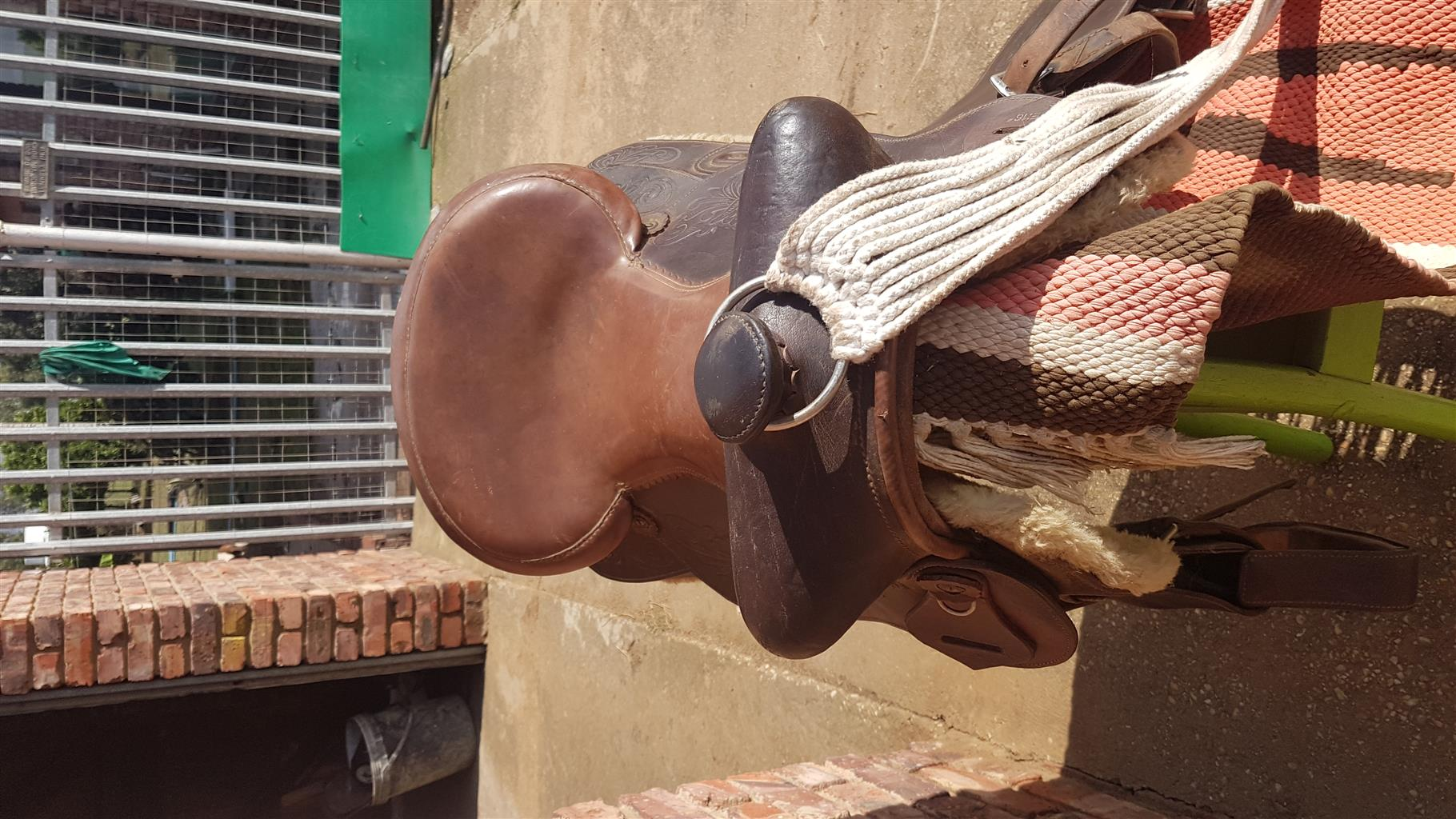 western saddle for sal