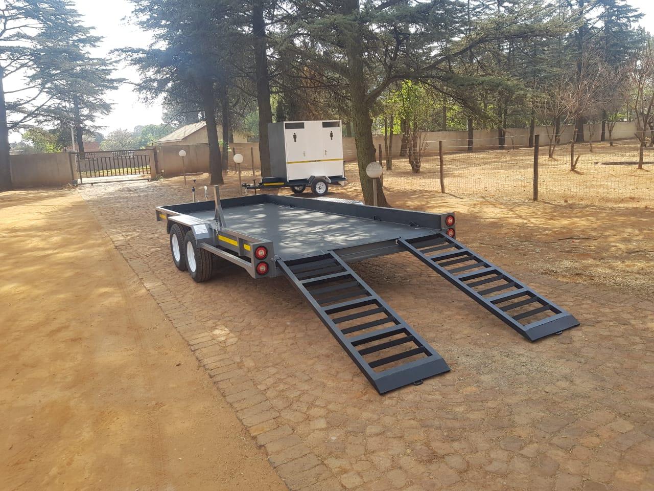 5 meter Car Trailer