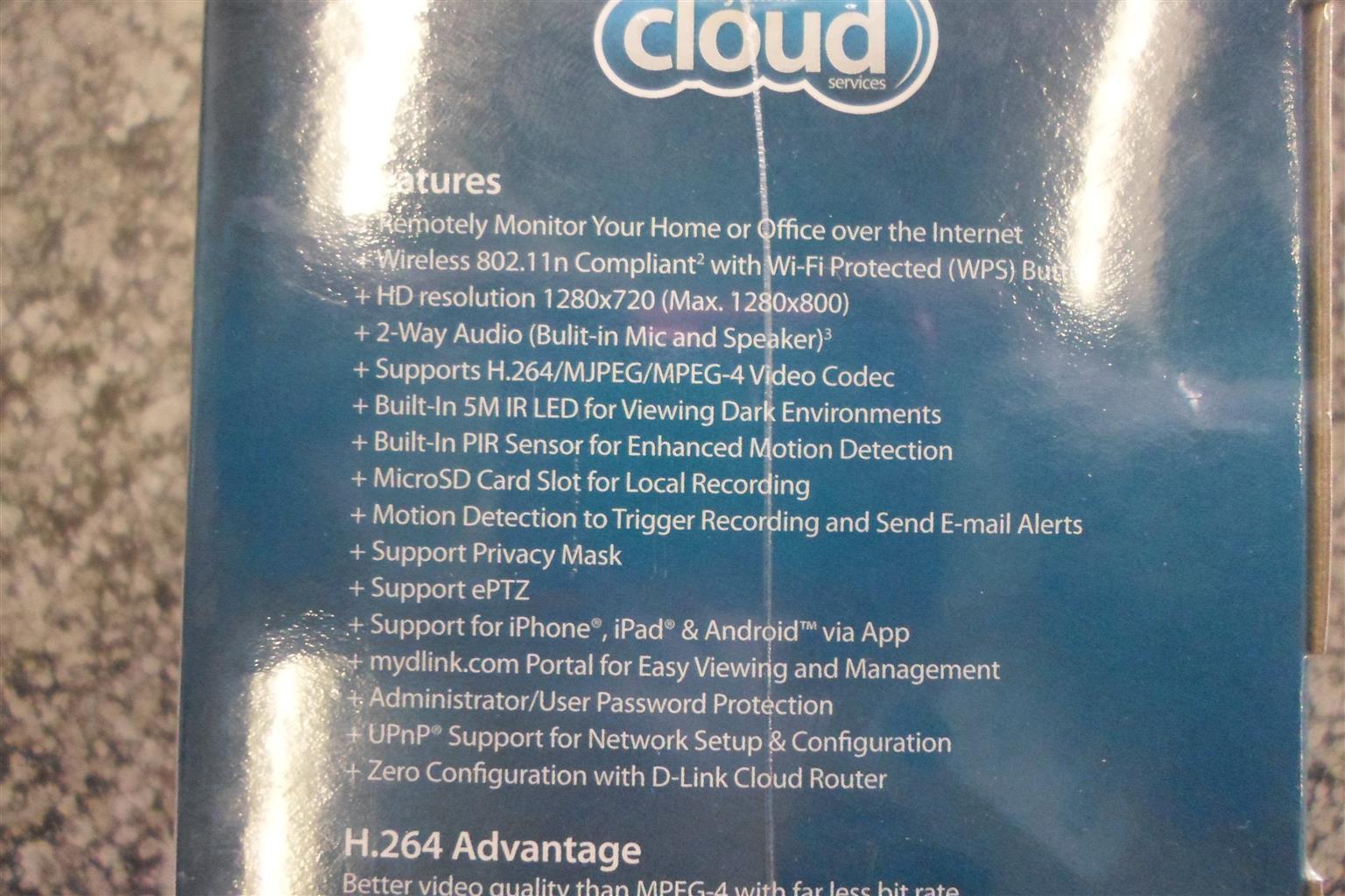 D-Link HD Cloud Camera