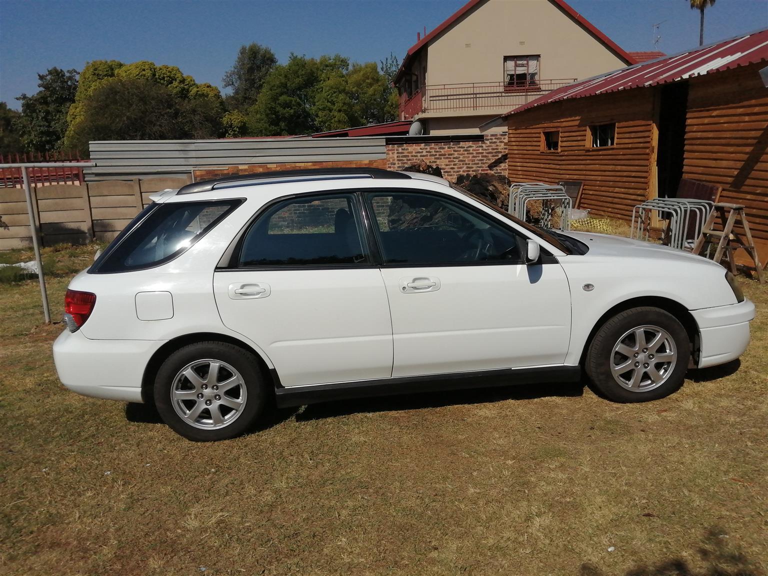 2004 Subaru Impreza IMPREZA 2.0i CVT