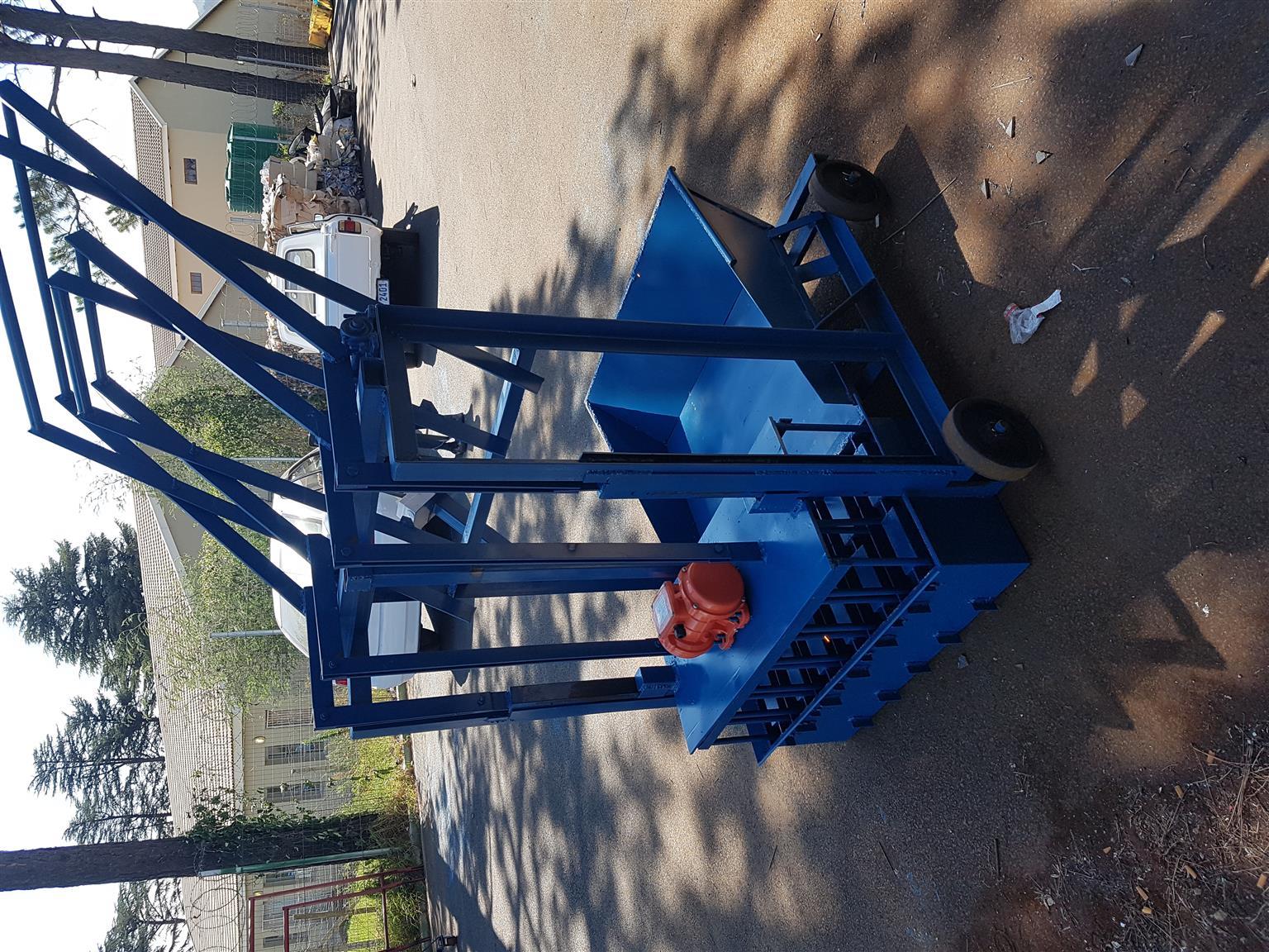 New block machine