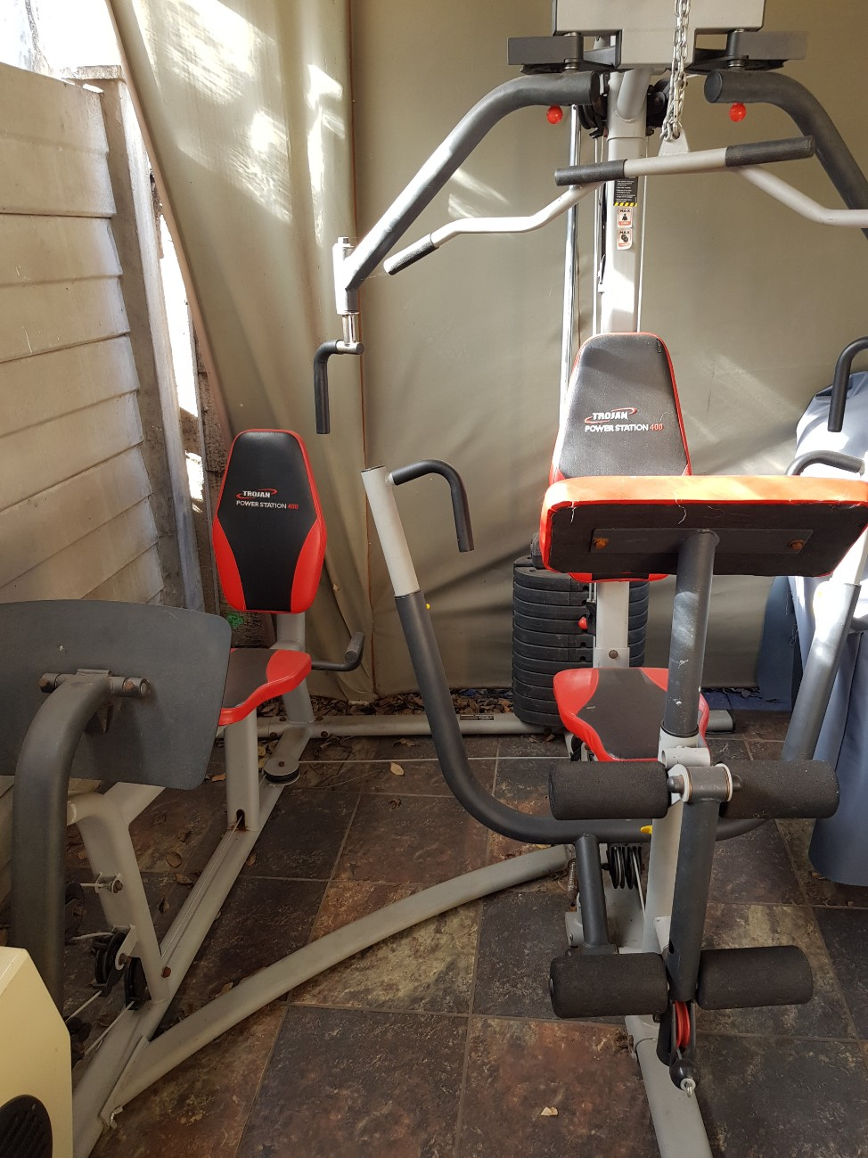 Home gym Trojan power station 400 for sale