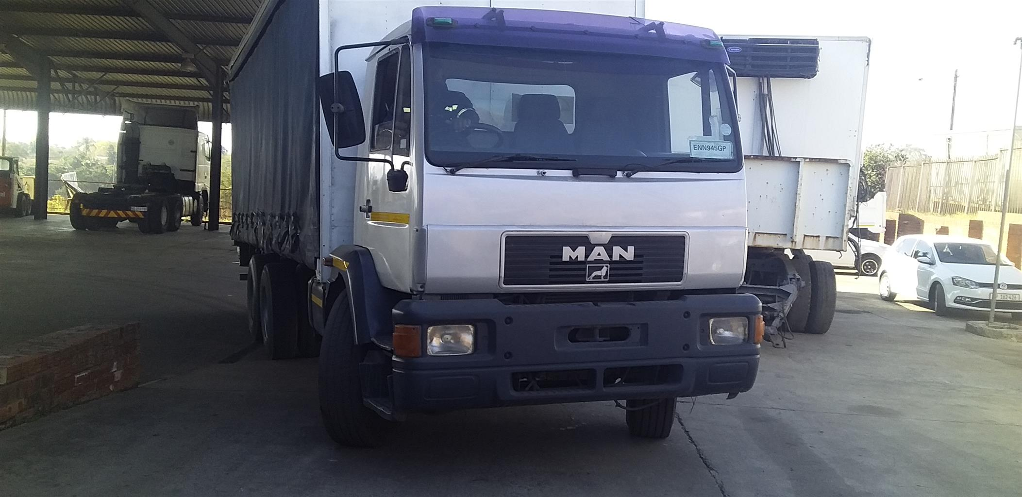 2001 MAN LM200 TAUTLINER BODY