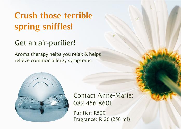 Water Air-Purifier & Fragrances