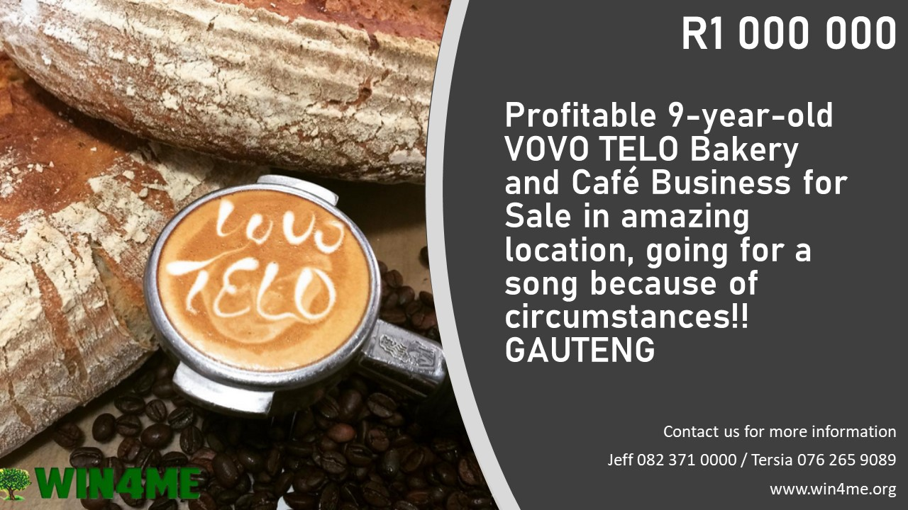 Bakery and Café For Sale