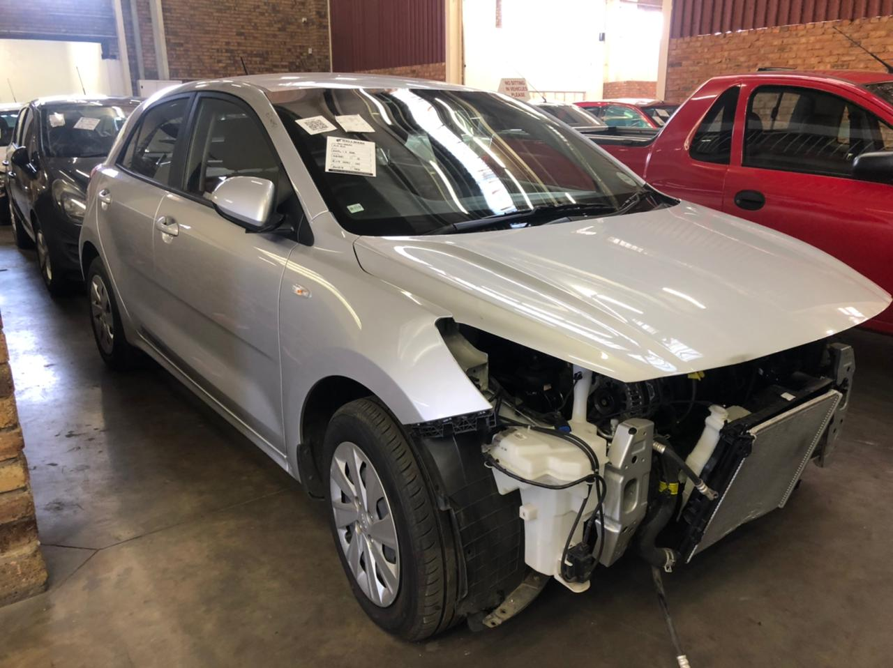2019 Kia Rio 1.2 Hatch Accident damaged