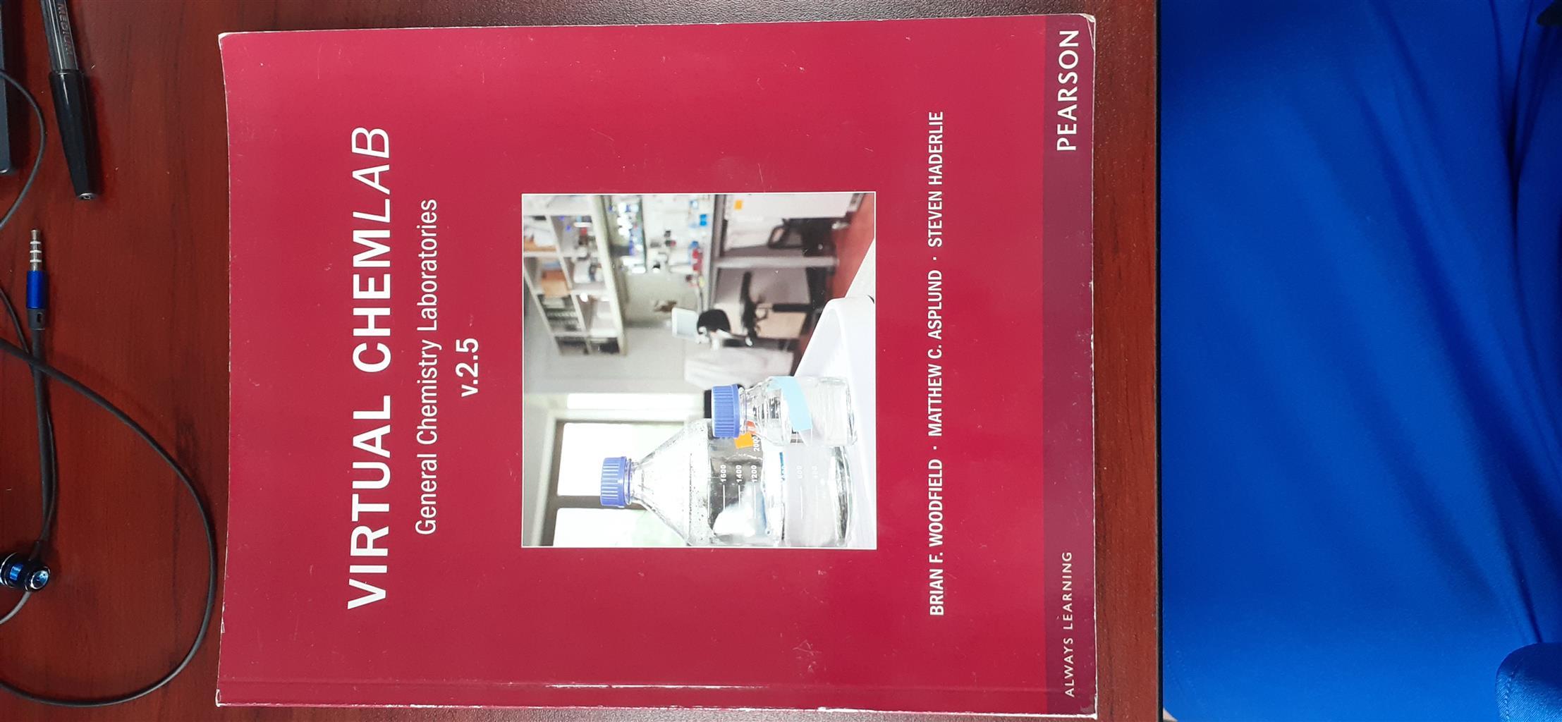 Virtual Chemlab v 2.5 Book