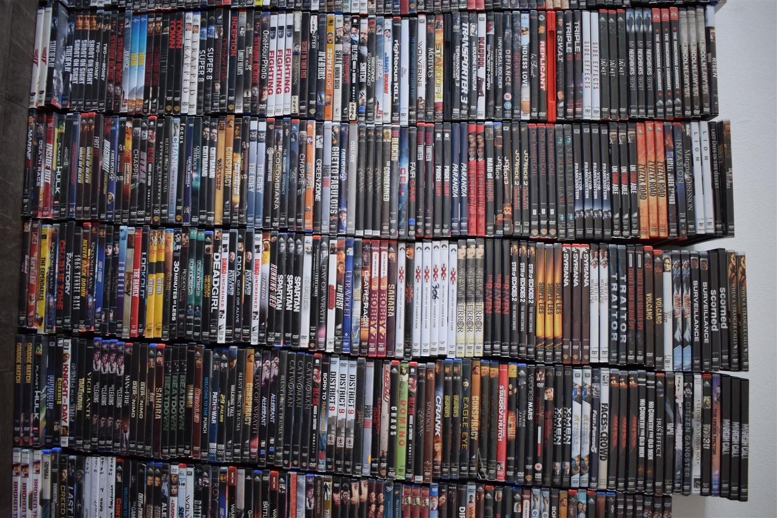 LAST CHANCE 12 600 Original DVDS Get Deals now before sell everything to cash crusaders