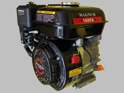 Magnum Petrol Engines 7hp with Horizontal shaft, Recoil Start, price incl. vat