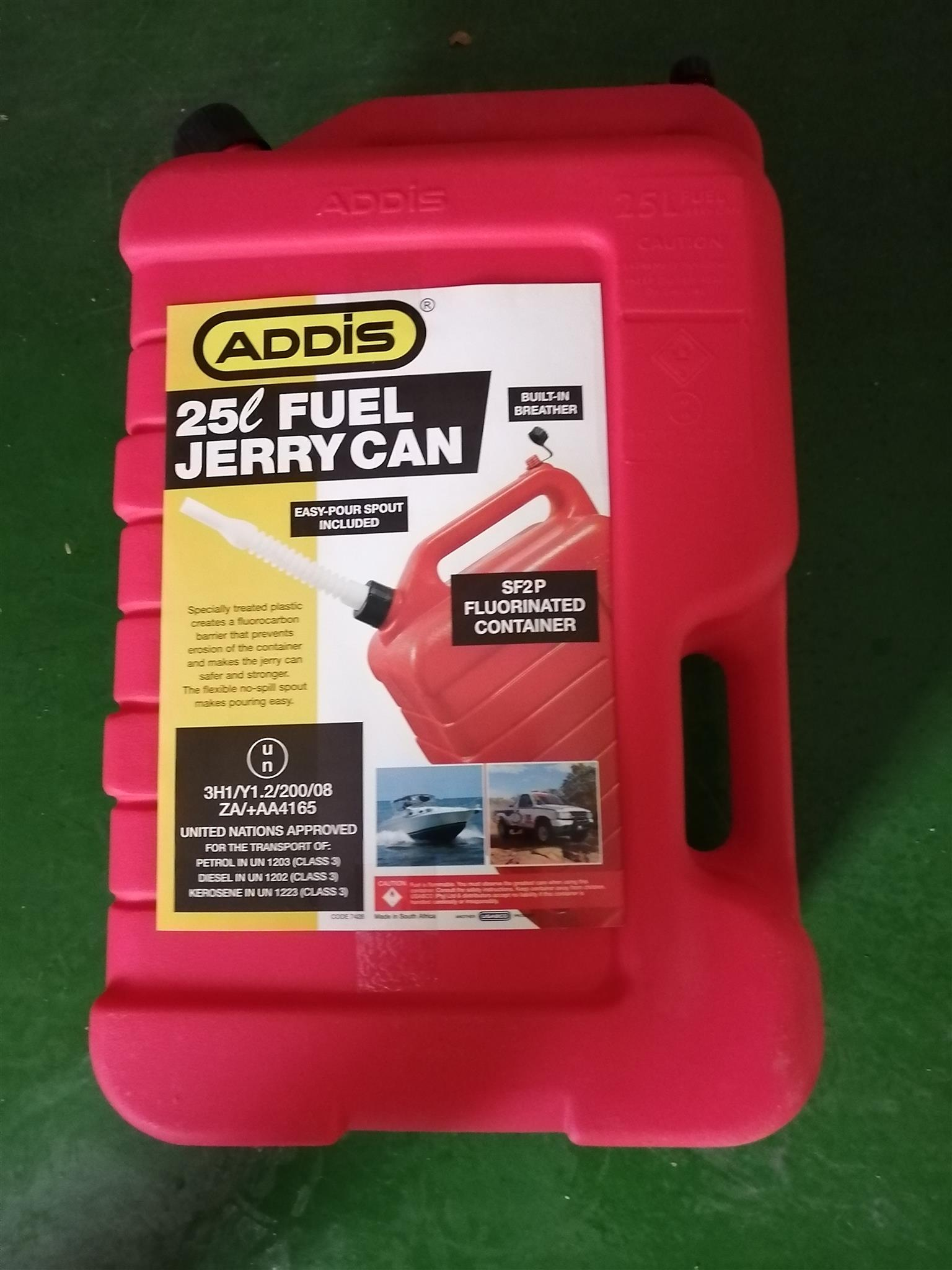 Jerry can 25ltr,