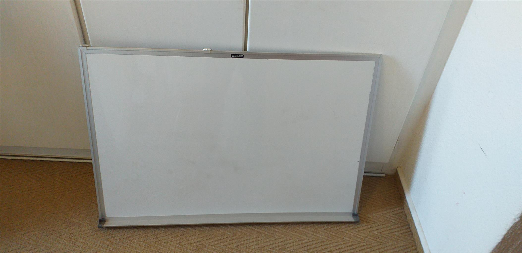 Office white board as new