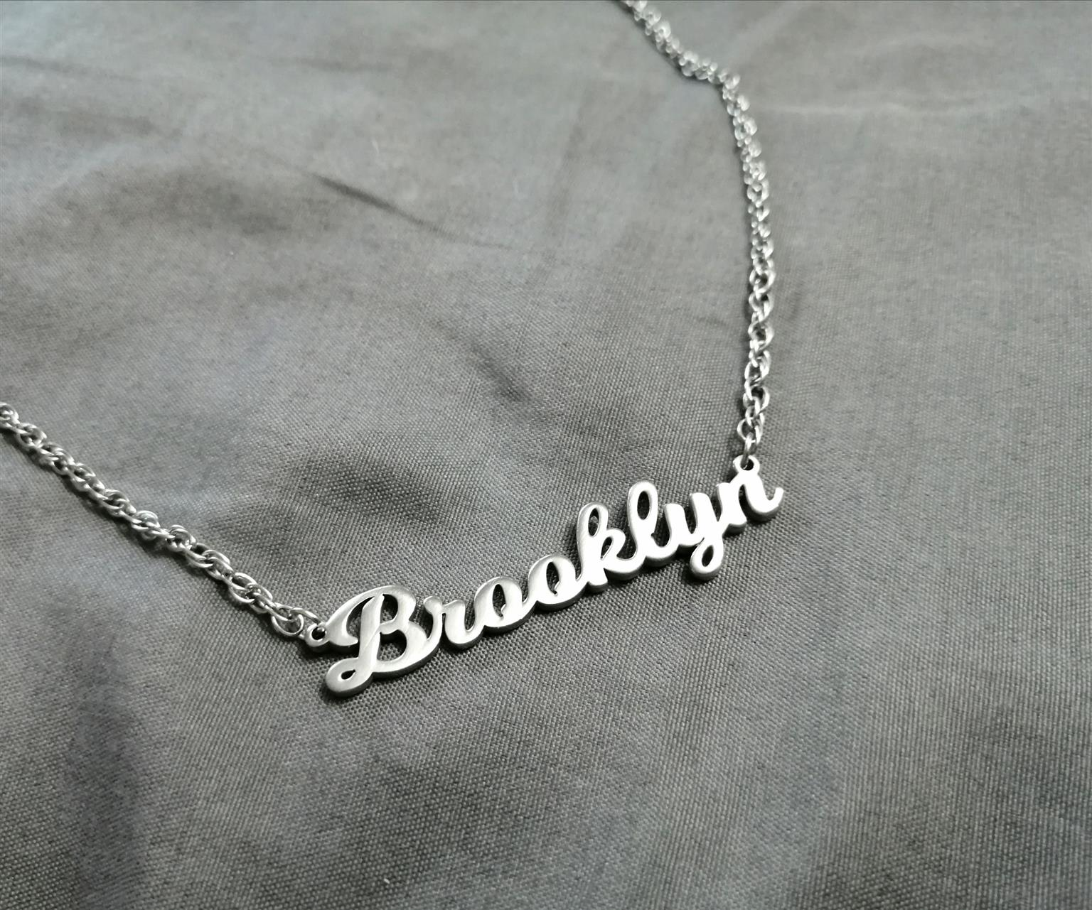 Name Cutout Necklaces