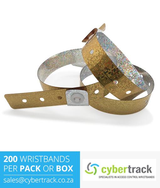 200 Hologram Wristbands Pack