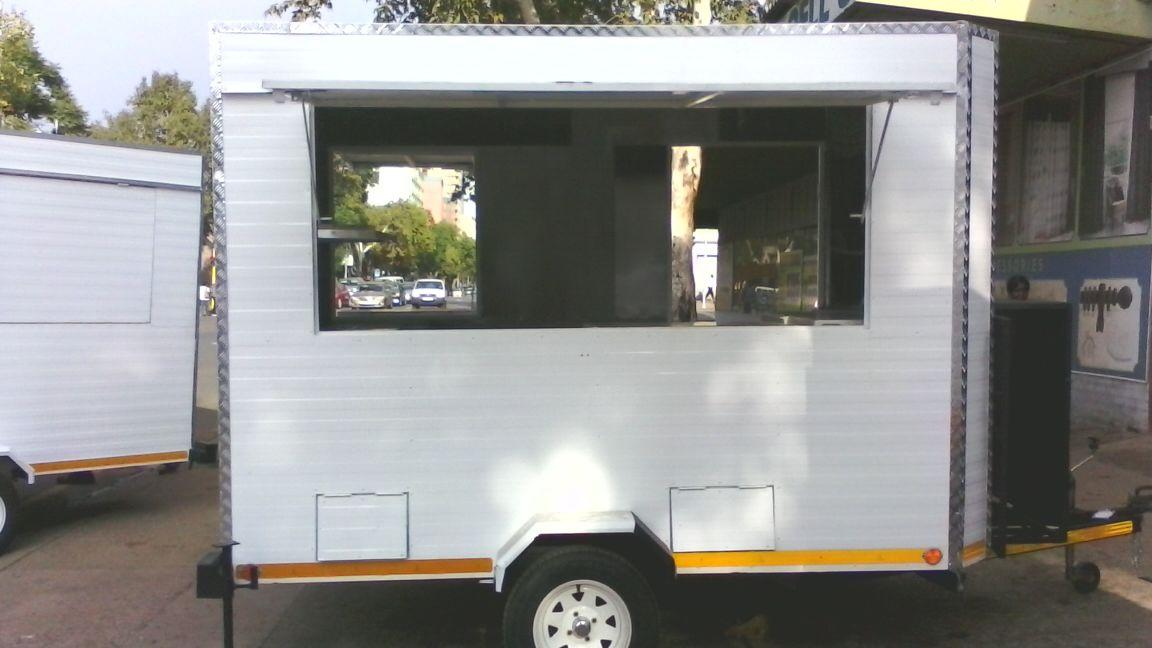3m Mobile Kitchen Trailer For Sale
