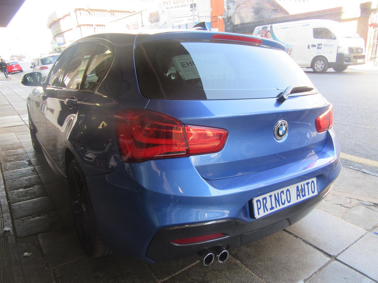 2018 BMW 1 Series 120i 5 door M Sport