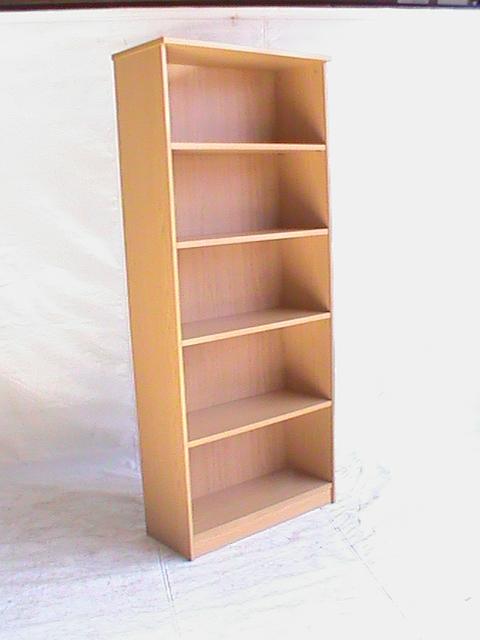 5 Tier oak bookcase