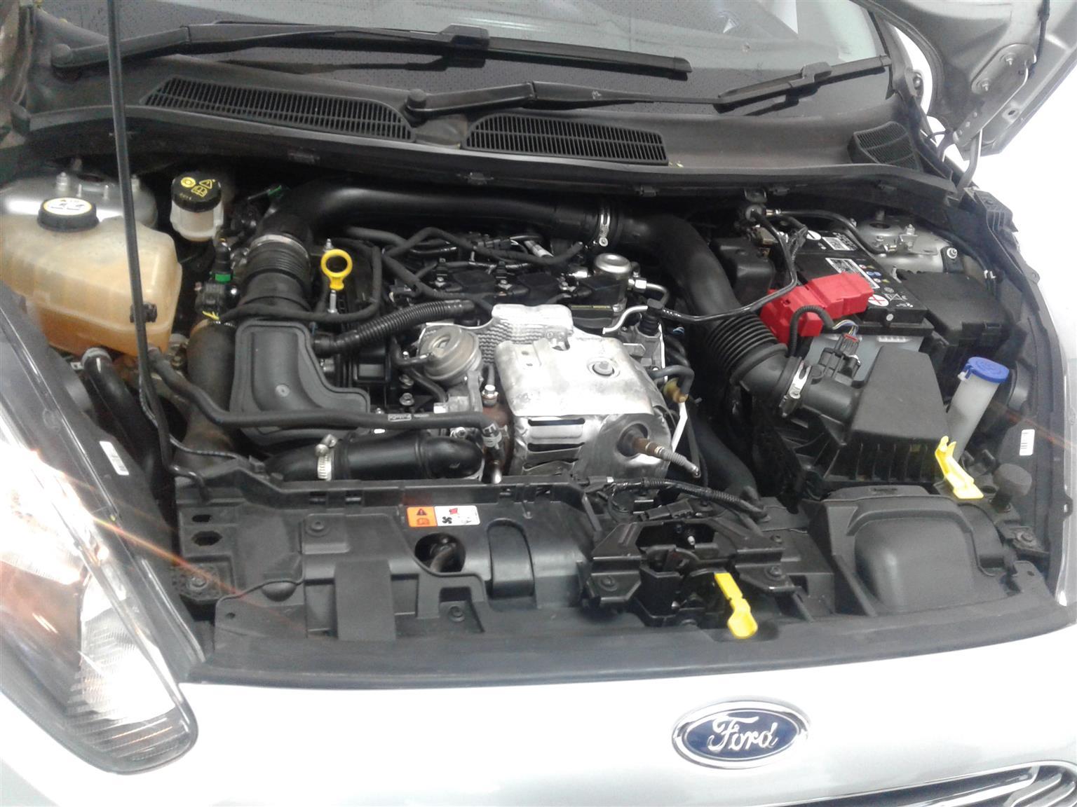 2016 Ford Fiesta 5 door 1.0T Titanium