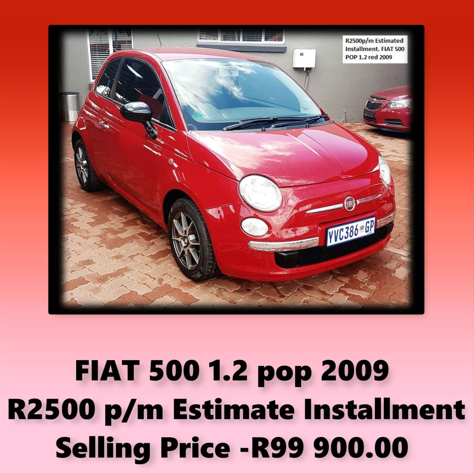 2009 Fiat 500 1.2 Pop