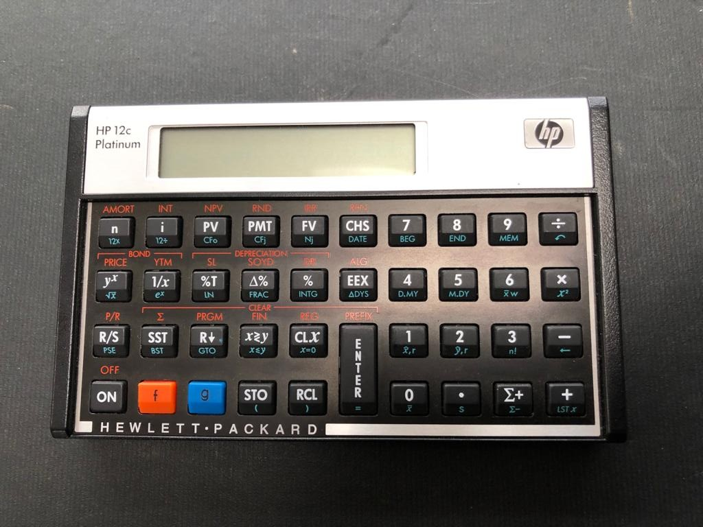 HP 12C Platinum Financial Calculator - A time-tested performer