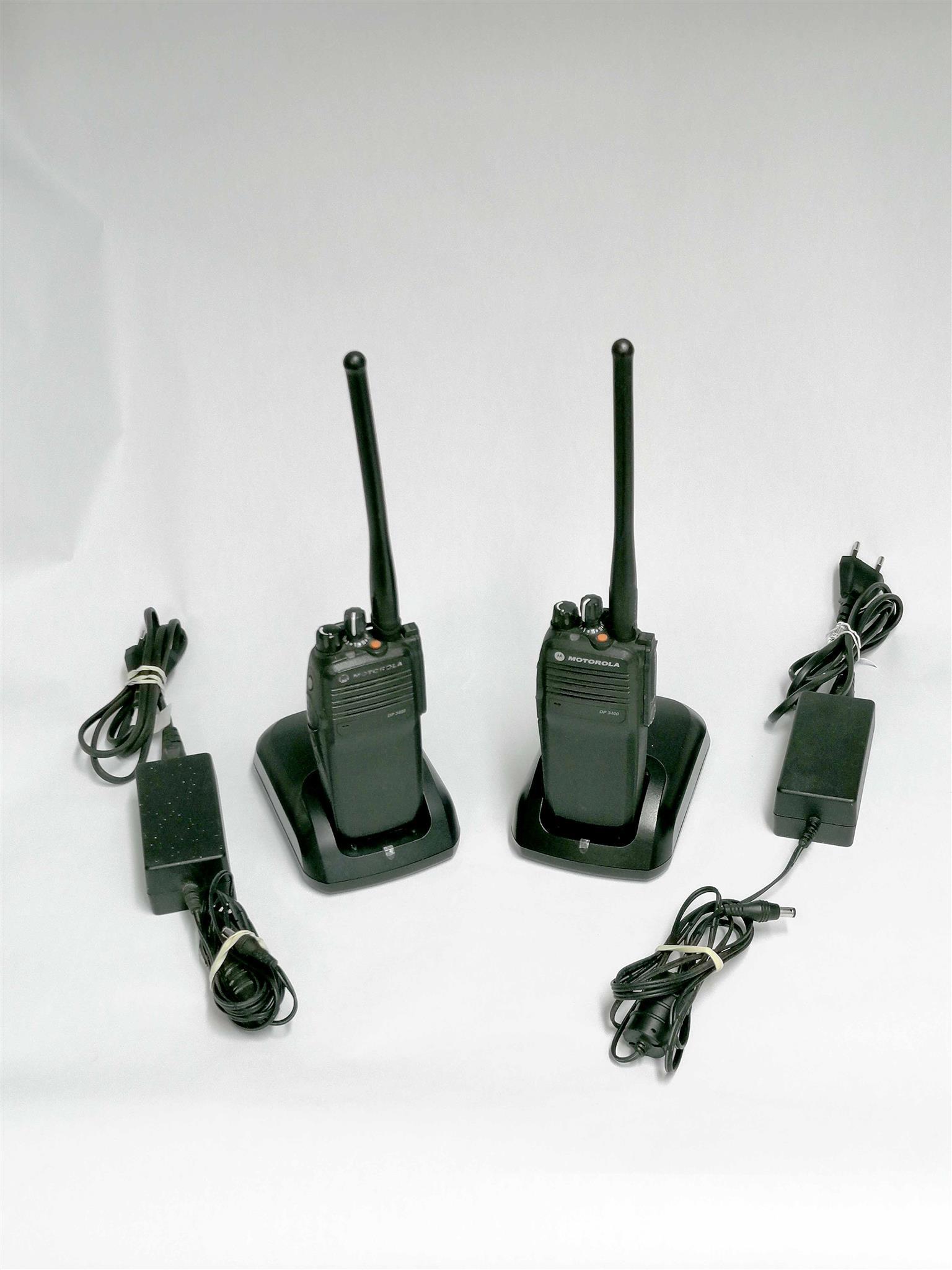 Motorola DP3400 Portable Digital Two Way Radio MOTOTRBO