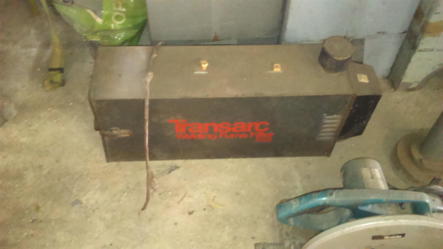 Transarc welding fume filter