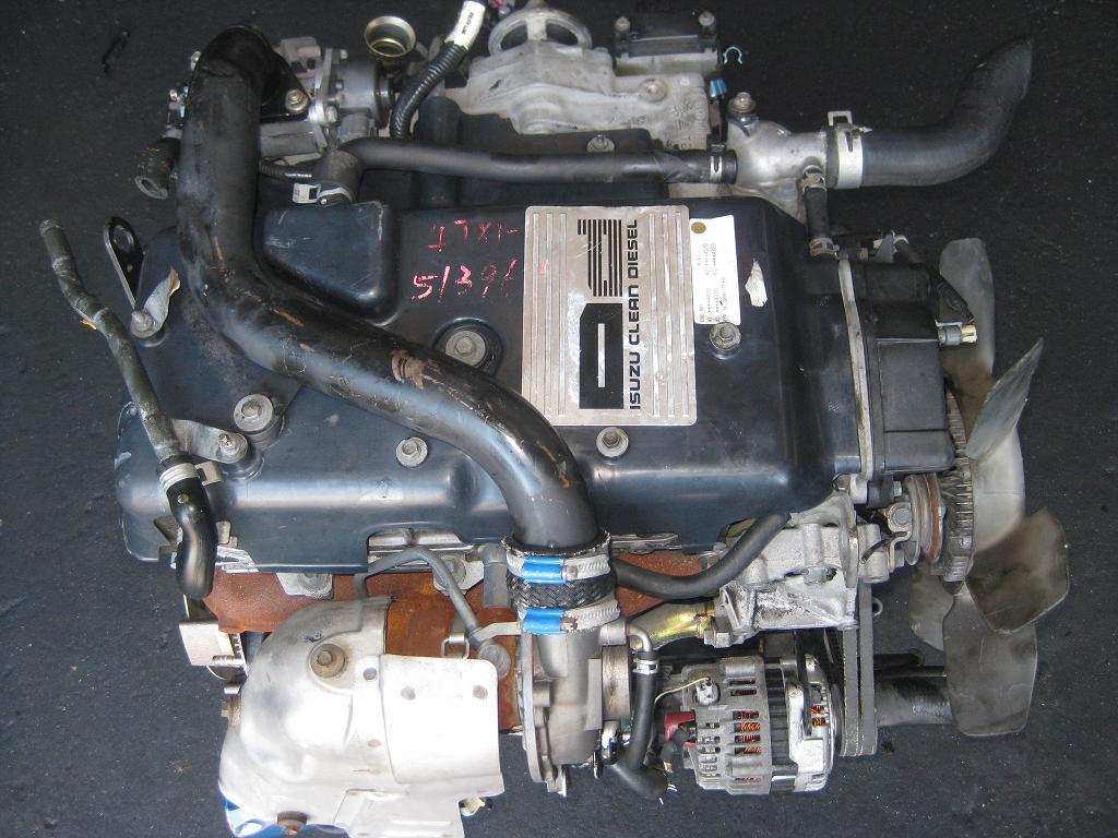 isuzu 3.0 4jx1 complete engine no gearbox | junk mail