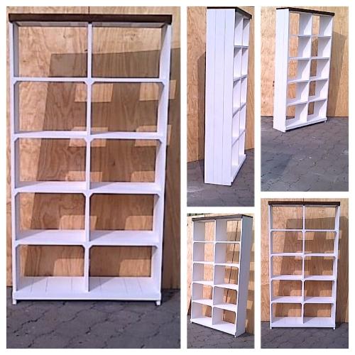 Bookshelf Farmhouse series 1150 Two tone