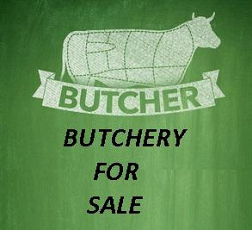 Butchery with good profit for sale!