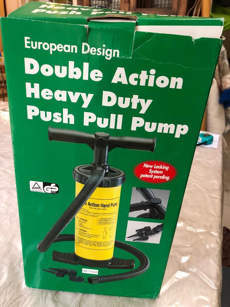 As new European Design Double action Hand pump
