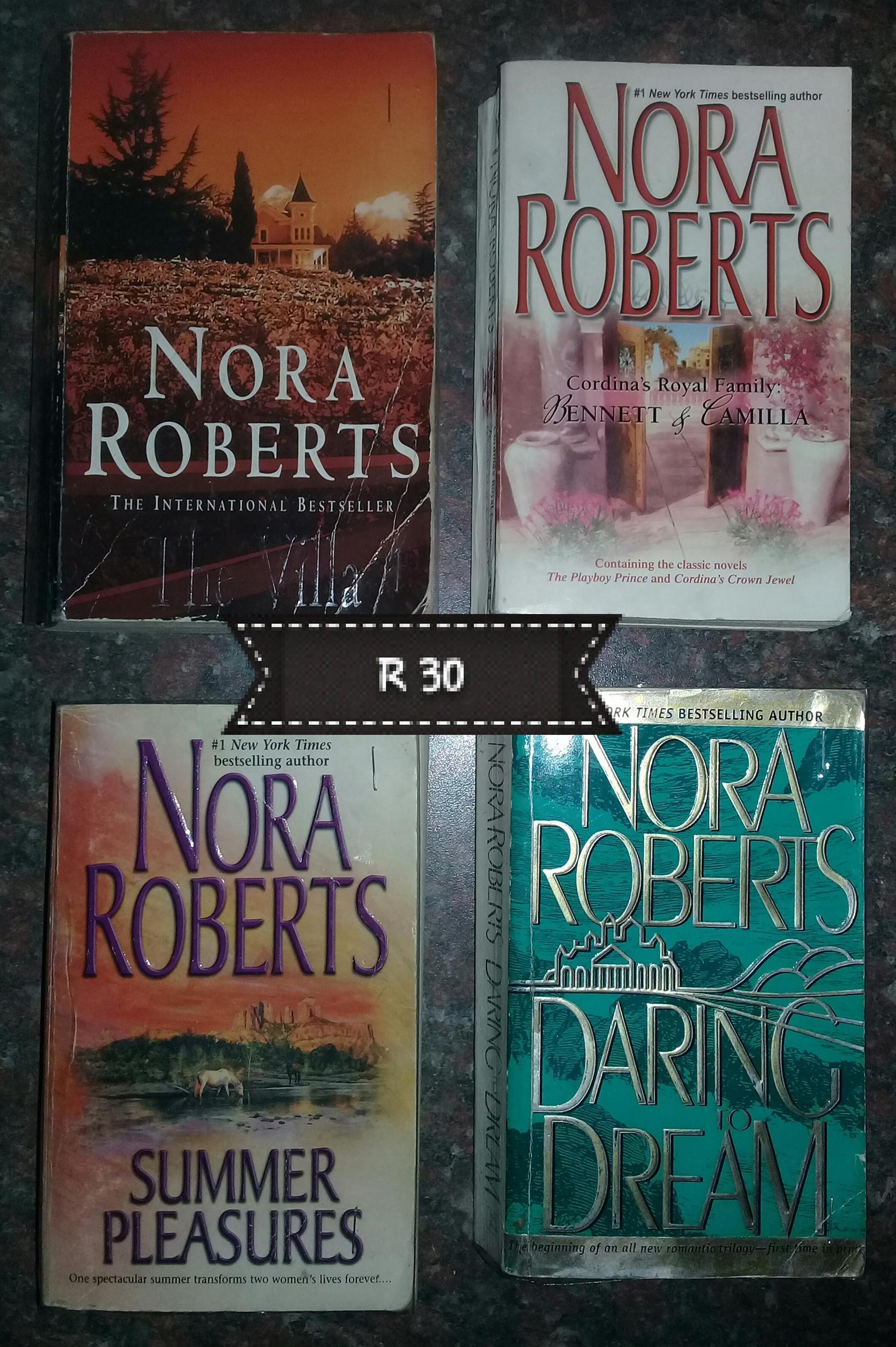 Nora Roberts books