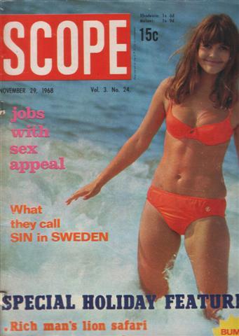 WANTED: SPECIFIC MAGAZINES/TYDSKRIFTE - Vrouekeur, Scope, etc - SEE LIST  IN DESCRIPTION
