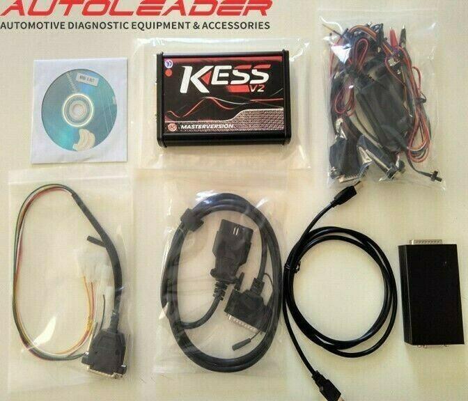 KESS V2 Master version 5.017 EURO RED ONLINE Version Chip tuning Tool