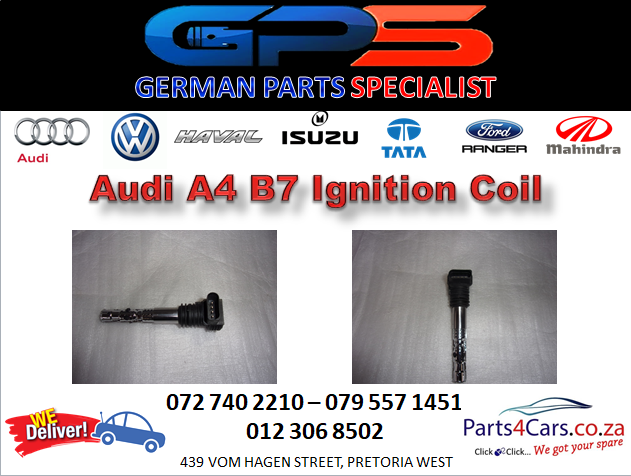 New Audi A4 B7 Ignition Coil for Sale