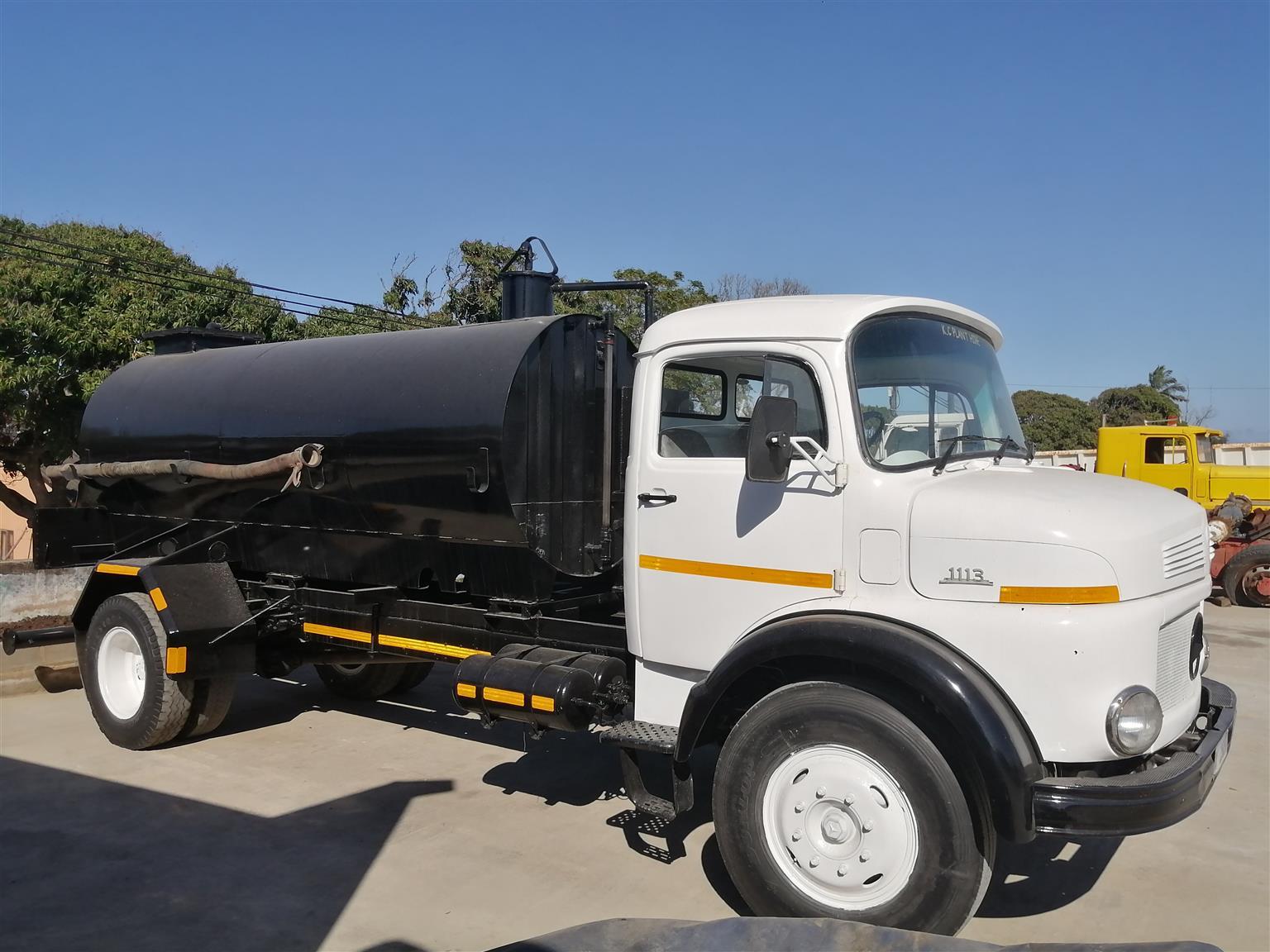 Mercedez Benz 1113 Sludge/ Water Tanker For Sale