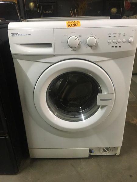 Defy 6kg washing machine.