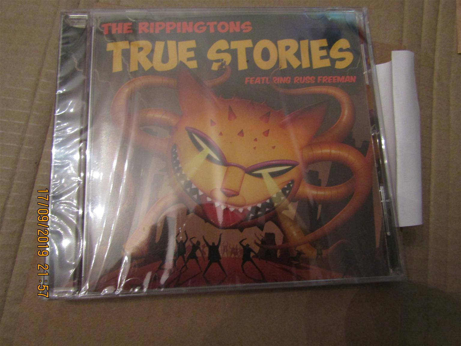 Rippingtons - True Stories, brand new, sealed, imported
