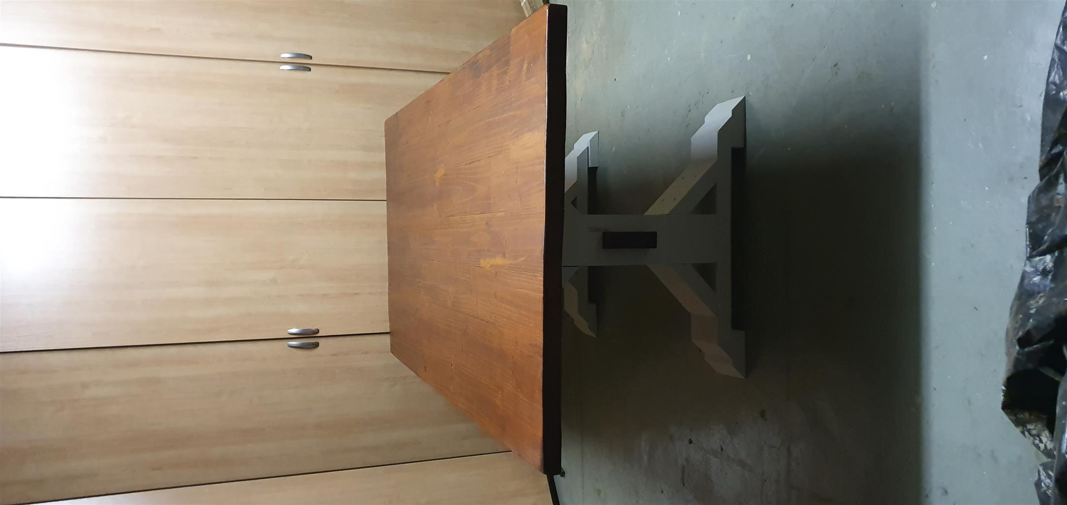 Rustic Farmhouse style solid wood table