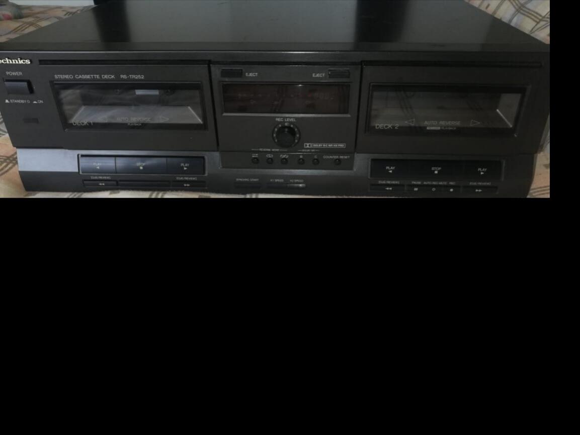 Technics Cassette tape deck