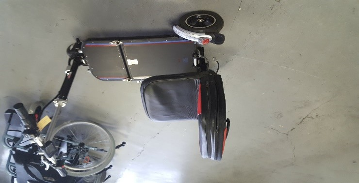 MR WHEELCHAIR ROO ALU SCOOTER