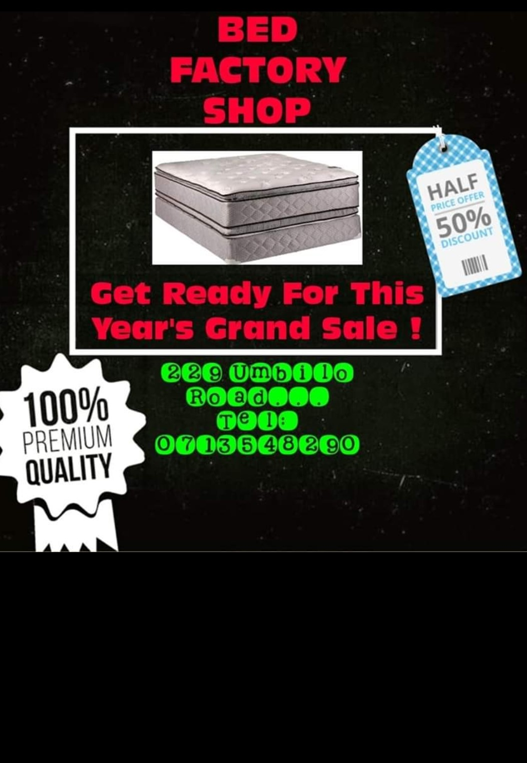 Beds at discounted prices