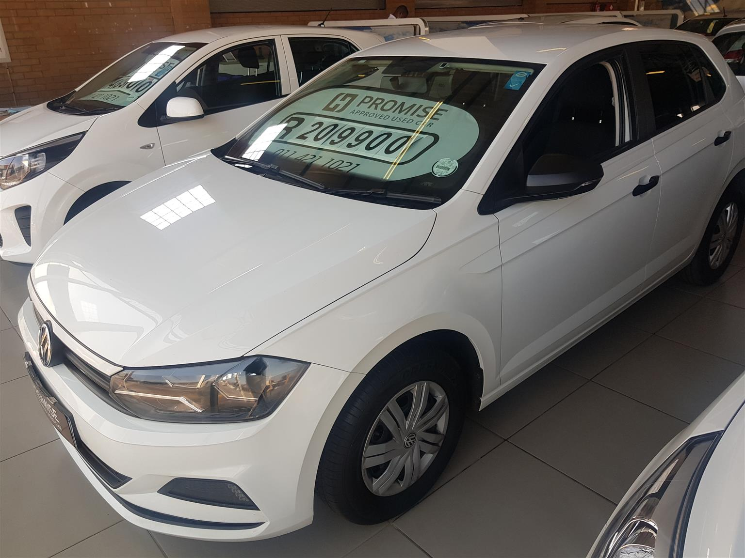 2018 VW Polo 1.2TSI Comfortline