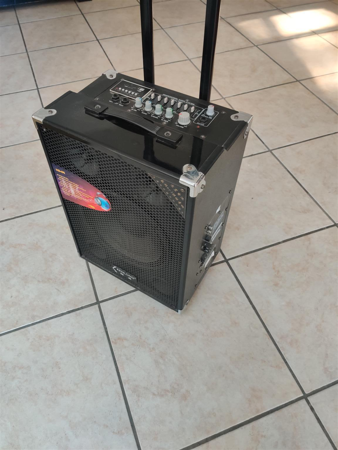 Multi-Purpose Professional Trolley Speaker with build-in EQ and multiple inputs.