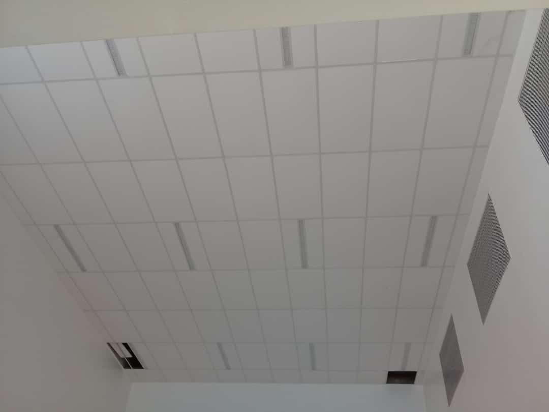 Ceiling and partition