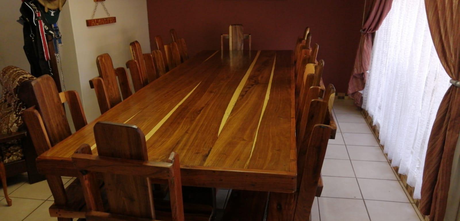 Eetkamer stel / Diningroom suite