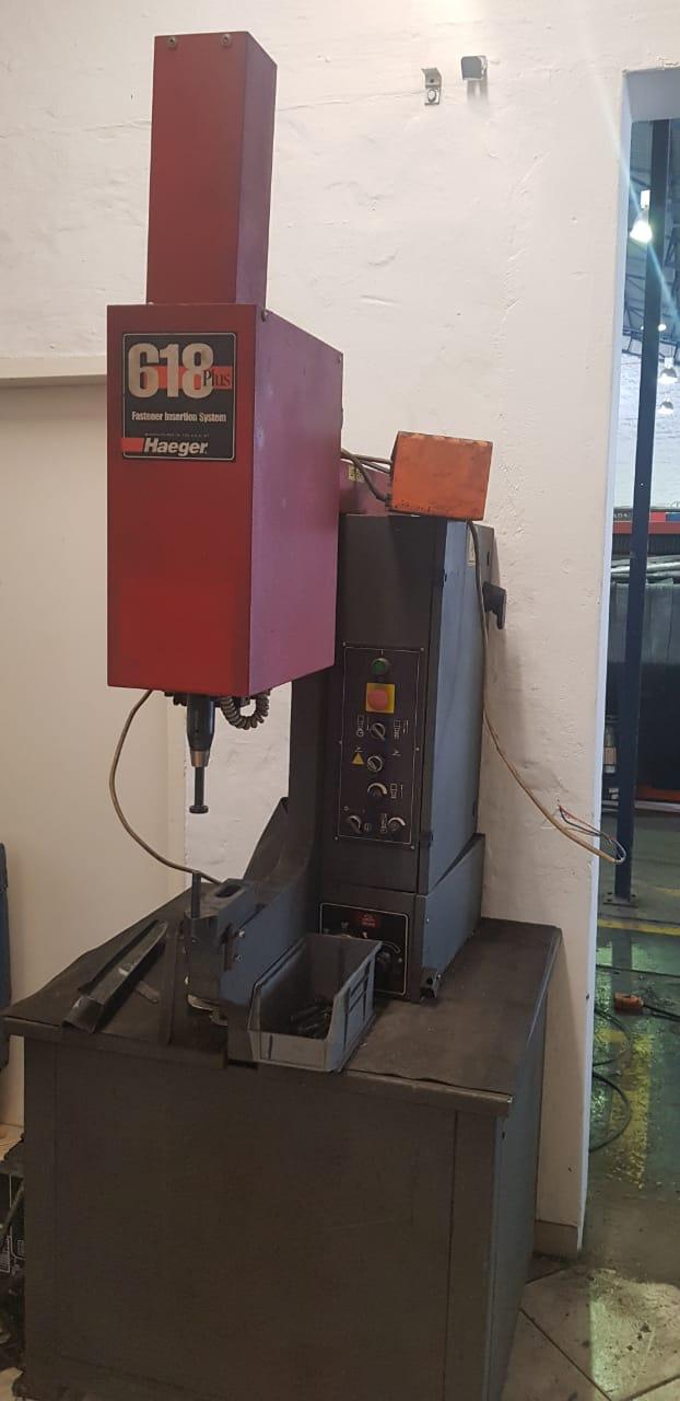 Haeger fastener insertion system for sale
