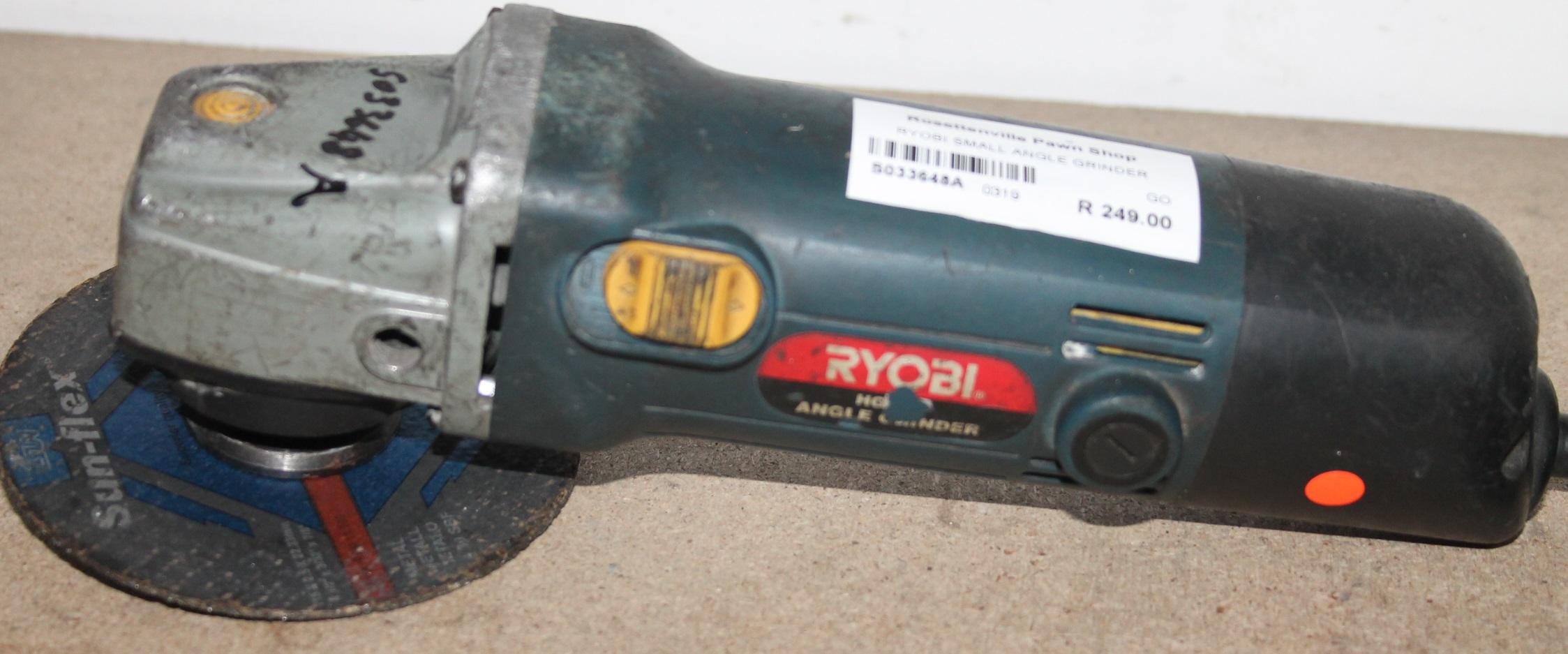 Ryobi angle grinder S033648A #Rosettenvillepawnshop